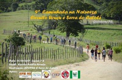9ª Caminhada na Natureza - Circuito Uruçu - Serra do Catolé