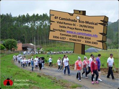 4a. Caminhada Ecomusical de Vidal Ramos